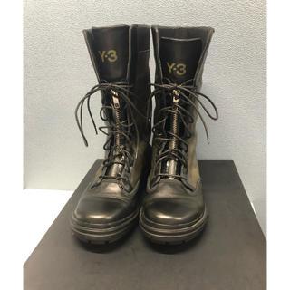 ワイスリー(Y-3)のY,S / Y-3  /YOHJI YAMAMOTO 革 ブーツ レディース(ブーツ)
