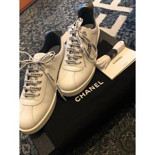 シャネル(CHANEL)の限定出品 新品未使用 CHANEL シャネル 国内品 メンズサイズ 41(スニーカー)