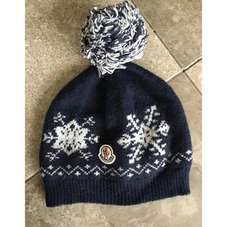 モンクレール(MONCLER)のモンクレール ニット帽(帽子)