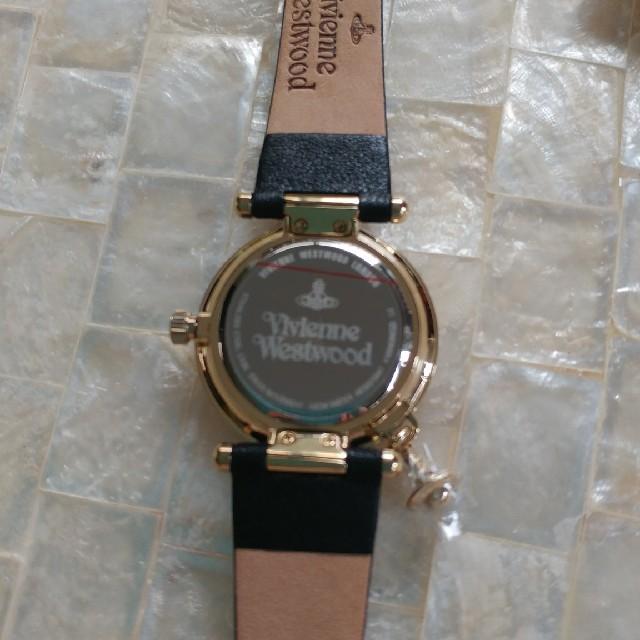 Vivienne Westwood(ヴィヴィアンウエストウッド)の☆新品未使用☆ ヴィヴィアン ウエストウッド オーブ チャーム付 VV006BK レディースのファッション小物(腕時計)の商品写真