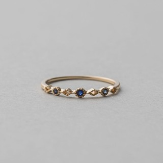 エテ(ete)の美品✨✨エテ K10YG レイヤード サファイア  リング(リング(指輪))