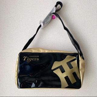 阪神タイガース - 阪神タイガース エナメル ショルダーバッグ