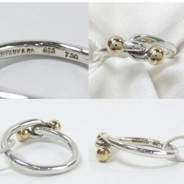 Tiffany & Co.(ティファニー)のティファニー ゴールド シルバー リング レディースのアクセサリー(リング(指輪))の商品写真