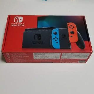 Nintendo Switch - 【美品】新型Nintendo Switchネオン