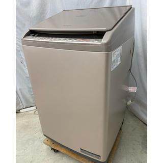 日立 - 2018年製美品 日立縦型洗濯乾燥機10kg ナイアガラ洗浄 BW-DV100C