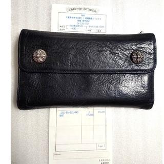 Chrome Hearts - 中古 インボイス原本 クロムハーツ ウォレット WAVE 財布