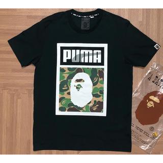 A BATHING APE - ★激レア APE × PUMA 限定 Tシャツ 黒 S シャーク
