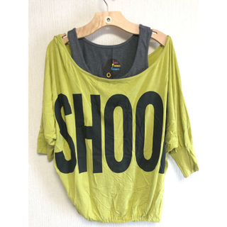 ベイビーシュープ(baby shoop)の【Baby Shoop】タンクトップ 2点セット ドルマン B系 Bガール(Tシャツ(長袖/七分))