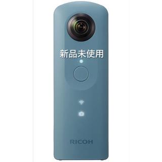 リコー(RICOH)のRICOH 360度カメラ RICOH THETA SC (ブルー)(コンパクトデジタルカメラ)