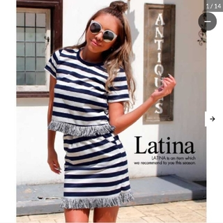 ANAP Latina - ANAP ラティーナ フリンジボーダーセットアップ