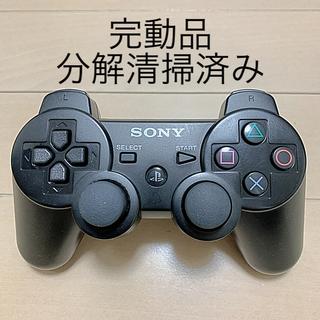 PlayStation3 - 完動品 SONY PS3 純正 コントローラー DUALSHOCK3 黒