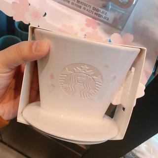 スターバックスコーヒー(Starbucks Coffee)の韓国 スターバックス さくら ドリッパー(調理道具/製菓道具)