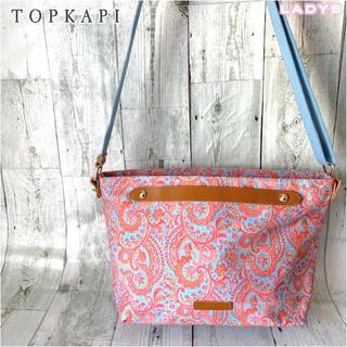 TOPKAPI - 激レア トプカピ ペイズリー柄 ショルダー バッグ 総柄 ジップ付き エトロ