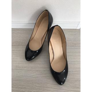 Spick and Span - 黒ヒール靴
