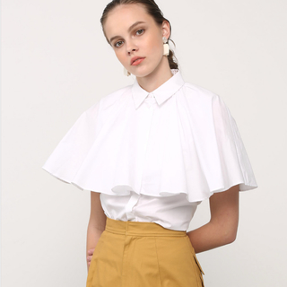 ENFOLD - 新品タグ付❤️EBLOA ケープライクシャツ