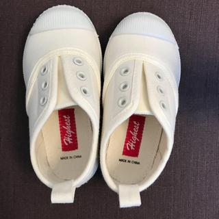 西松屋 - 西松屋✳︎スリッポン  シューズ 白 ホワイト 15cm