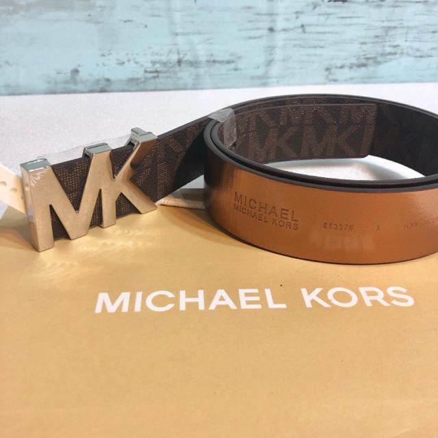 Michael Kors(マイケルコース)のラッピング込み ショッパーつき メンズのファッション小物(ベルト)の商品写真