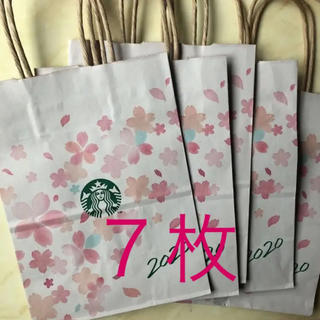 Starbucks Coffee - スターバックス ショッパー  7枚 紙袋 ショップ袋