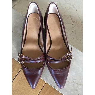 ジェイアンドエムデヴィッドソン(J&M DAVIDSON)のJ&M DAVIDSON フラットシューズ 22.5cm(ローファー/革靴)