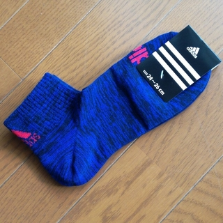 adidas - adidas ブルー 系 靴下 24-26cm