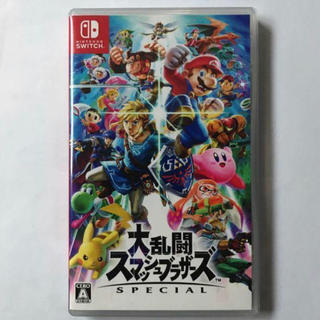 Nintendo Switch - 任天堂Switch 大乱闘スマッシュブラザーズ ソフト 新品未使用品