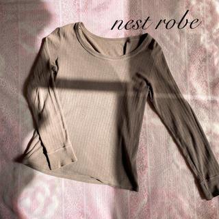 ネストローブ(nest Robe)のnest robe ネストローブ コットンリネントップス カットソー(カットソー(長袖/七分))