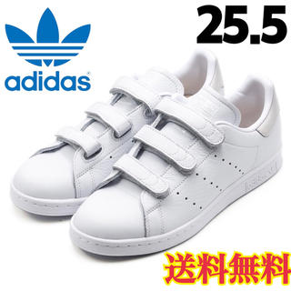 adidas - ★新品★アディダス  スタンスミス  スニーカー ベルクロ ホワイト  25.5