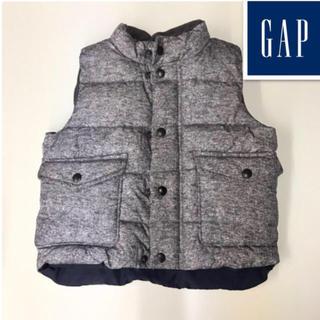 GAP - 美品☆GAP/ギャップ☆キッズ/ダウンベスト☆2years/95cm☆グレー系