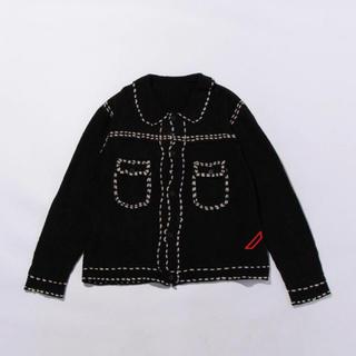 UNUSED - phingerin フィンガリン ステッチ ニット knit 最安値