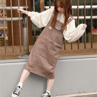 NICE CLAUP - ☆新品☆ apres jour ジャンパースカート