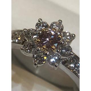 PTピンクダイヤモンド&ダイヤモンドリング(リング(指輪))