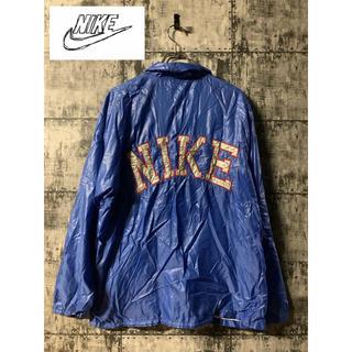 NIKE - 【激レア】70sNIKE ナイキ コーチジャケット ナイロンジャケット デカロゴ