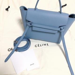 celine - 極美品 セリーヌ ベルトバッグ マイクロ