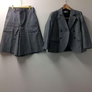 バレンシアガ(Balenciaga)のバレンシアガ ジャケット パンツ セットアップ グレー (93013755)(テーラードジャケット)