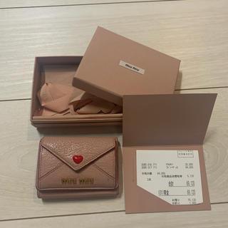 miumiu - ♡miumiuハート財布♡
