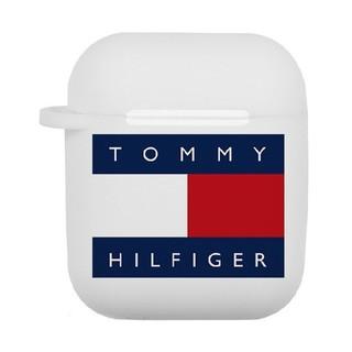トミーヒルフィガー(TOMMY HILFIGER)のトミーヒルフィガー AirPodsケース エアーポッズ ケース カバー r3u(iPhoneケース)