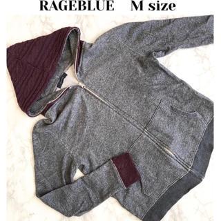 RAGEBLUE - 異素材パーカー✨RAGE BLUE