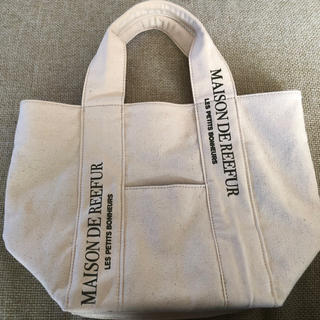 Maison de Reefur - メゾンドリーファー ロゴ入りトートバッグ