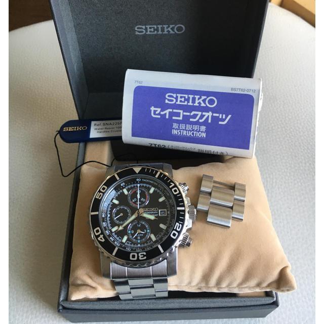 SEIKO(セイコー)のSEIKO 腕時計 メンズクロノグラフ メンズの時計(腕時計(アナログ))の商品写真