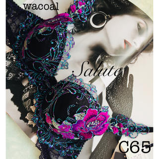 Wacoal - 【新品タグ付】希少プレミア❤︎サルート・アネモネC65(定価¥15400)