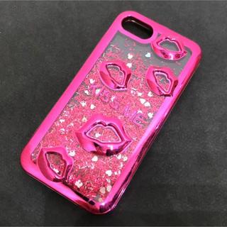 iPhone - iPhone ケース グリッター キラキラ ピンク