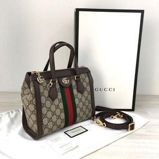 Gucci - 未使用品 グッチ スモールGGオフィディア 2WAYバッグ 145