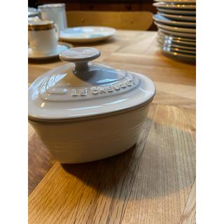 LE CREUSET - LE CREUSET ココット ラムカン ダムール 白 食器 皿 カトラリー