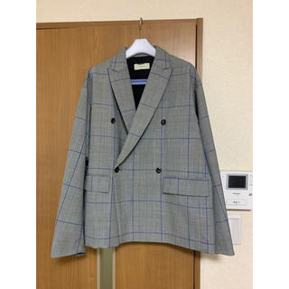 Jieda - Jieda20ss Double Tailored Jacket グレンチェック