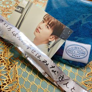 シャイニー(SHINee)のSHINee ミノ💎 BEST CHOI'S MINHO タオルポストカード(アイドルグッズ)