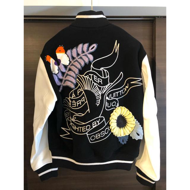 LOUIS VUITTON(ルイヴィトン)の緊急値下 VIP完売 新品 louis vuitton ルイヴィトン スタジャン メンズのジャケット/アウター(スタジャン)の商品写真