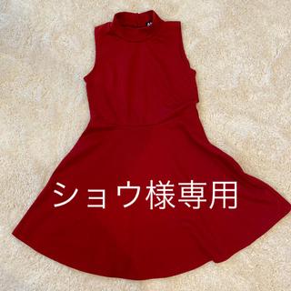 アナップ(ANAP)のANAP ワンピース Aライン パーティドレス ドレス (ひざ丈ワンピース)