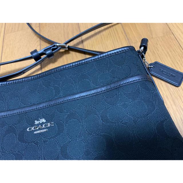 COACH(コーチ)の値下げ‼︎コーチショルダー黒(ブラック) レディースのバッグ(ショルダーバッグ)の商品写真