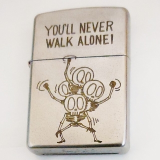 Zippo FUNNY SKULL「WALK ALONE!」