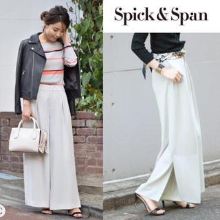Spick and Span - 【新品】 春夏商品 スピックアンドスパン スソベンツパンツ 38サイズ
